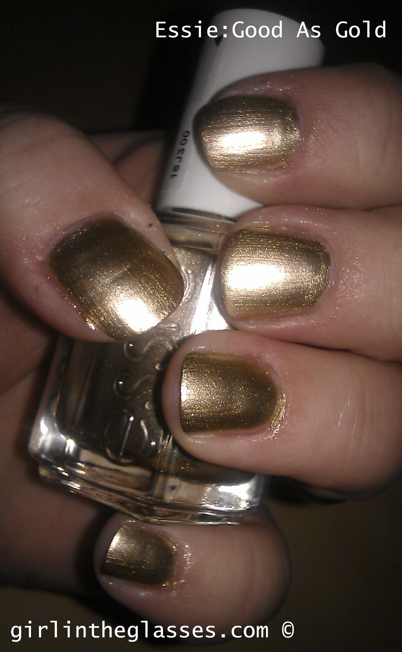 Essie: Good As Gold | girlintheglasses