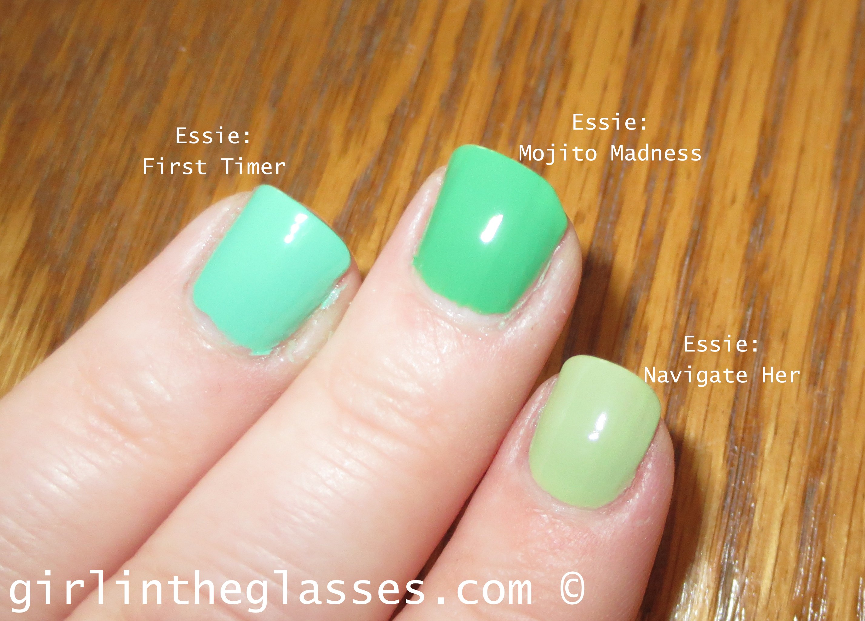 nail polish swatch | girlintheglasses